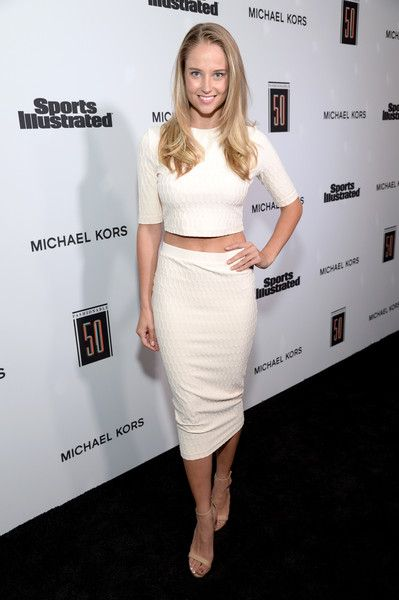 Genevieve Morton at Sports Illustrated 2017 Fashionable 50 Celebration at Avenue on July 18, 2017 in Los Angeles, California.