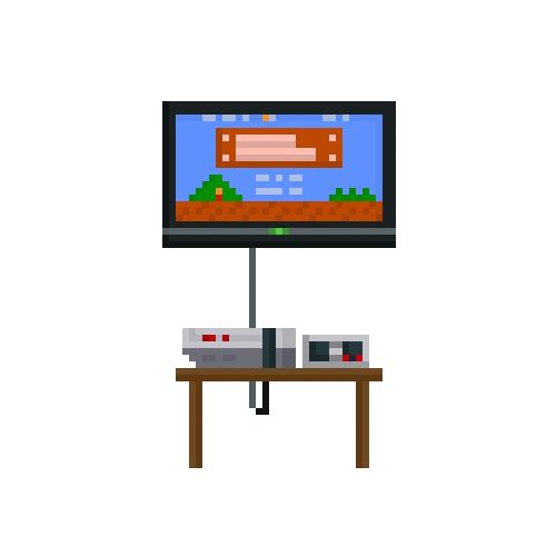 NES and Super Mario Bros - Some of my own pixel creations