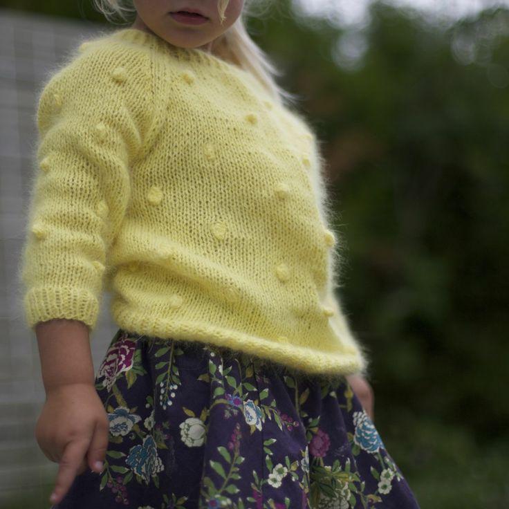 Popcorngenser/Popcorn sweater (norwegian