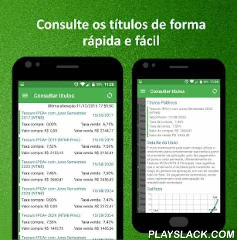 Treasury Direct  Android App - playslack.com ,  Note: Direct Treasury and brasilerio program of fixed income, only for Brazilian investors (who have regular CPF), nothing prevents the attention of all.Application Developed in order to familiarize the Treasury Direct Investment that has been hum Well more profitable and secure the savings.Treasury Direct Program and a sale of Government Securities, Treasury developed hair, which aims to capture resources AND THE Public Debt Financing and…