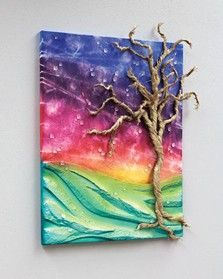 315 best mixed media tutorials and inspiration images on for Mixed media canvas art ideas