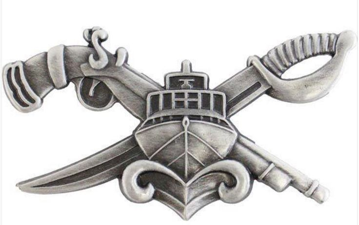 Navy SWCC Special Warfare Combatant Crew Badge
