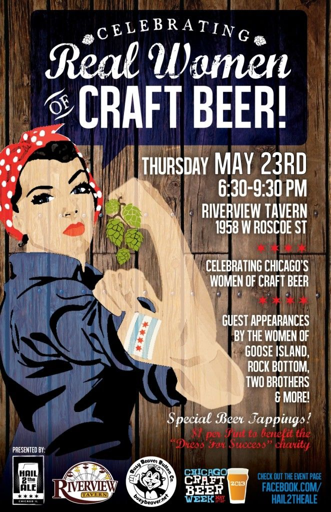 (Celebrating Real Women of Craft Beer  #craftbeer
