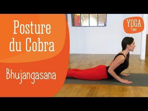 Posture du Cobra - Bhujangasana