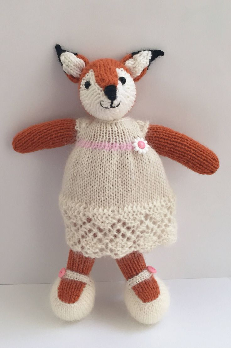 Freda fox has just arrived