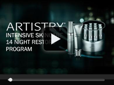 ARTISTRY Intensive skincare 14 Night restore Program