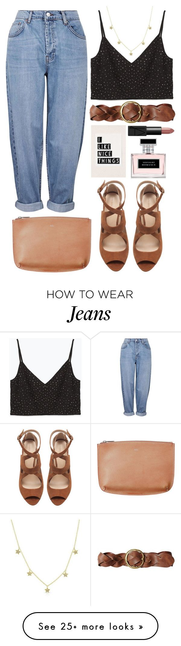 """""""only sky is  the limit"""" by rosiee22 on Polyvore featuring Topshop, Zara, Polo Ralph Lauren, NARS Cosmetics and Ralph Lauren"""