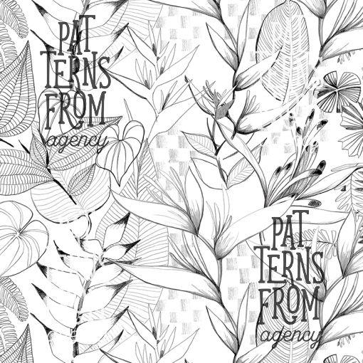 Kahandi Design: Vehmas – Vehmas  #patternsfromagency #patternsfromfinland #pattern #printdesign #patterndesign #surfacedesign #ammilahtinen