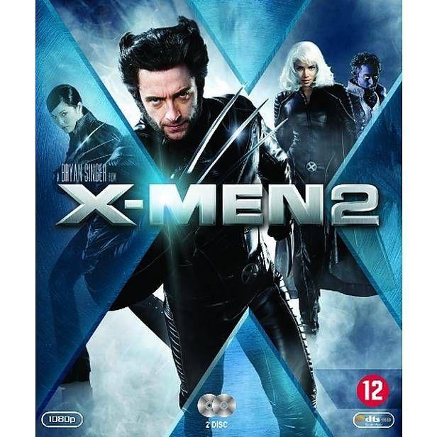 X-Men 2 (Blu-ray) #xmen #xmen2 #x-men #dvd #bluray #wolverine #hughjackman #rogue