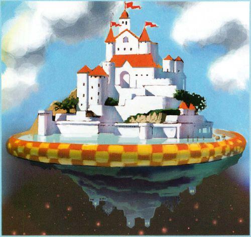 Super Mario Galaxy Concept Art | Nintendo Wii