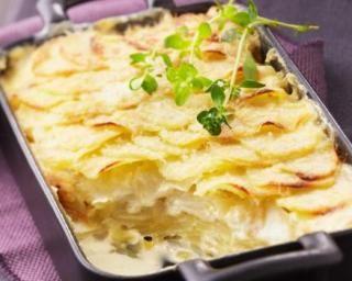 Gratin dauphinois au fromage frais et curry : http://www.fourchette-et-bikini.fr/recettes/recettes-minceur/gratin-dauphinois-au-fromage-frais-et-curry.html