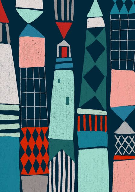 Ophelia Pang: lighthouses
