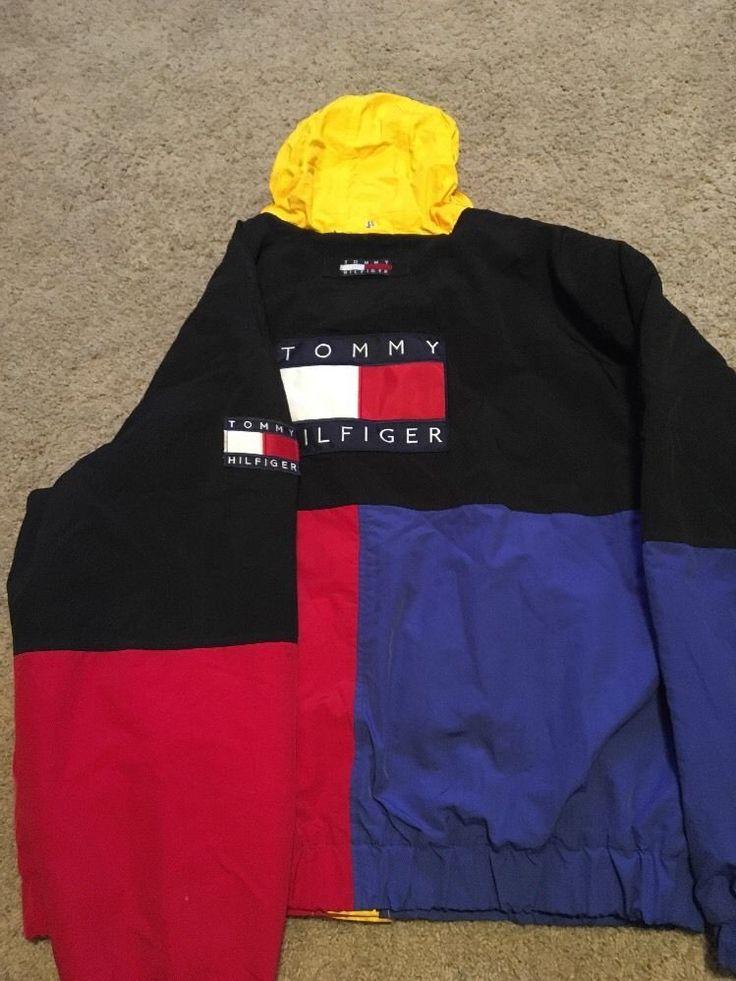 Authentic Vintage Tommy Hilfiger Jacket Men's Xl #TommyHilfiger #BasicJacket