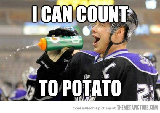 Hockey players…