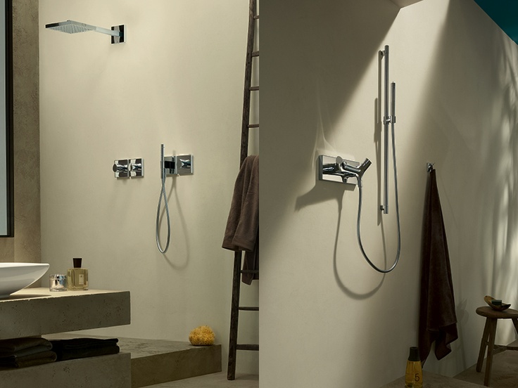 Axor Starck Organic: bathroom mixers for the shower.