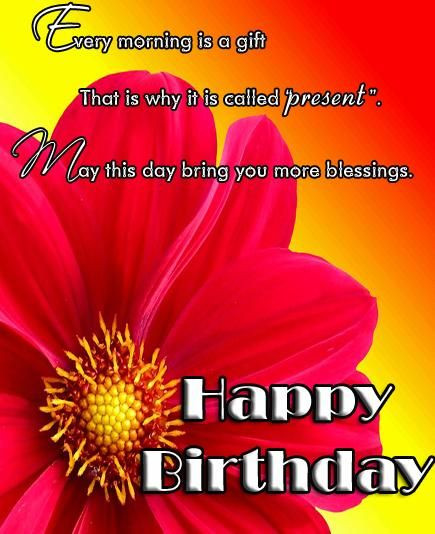 Inspirational Birthday Messages - Messages, Wordings and Gift Ideas