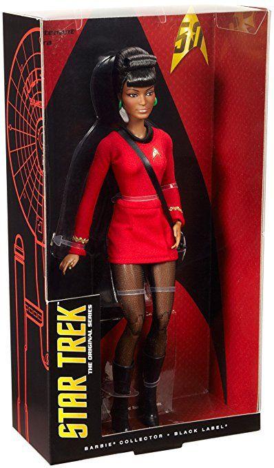 Mattel Barbie DGW70 Star Trek 25th Anniversary Uhura, Puppen