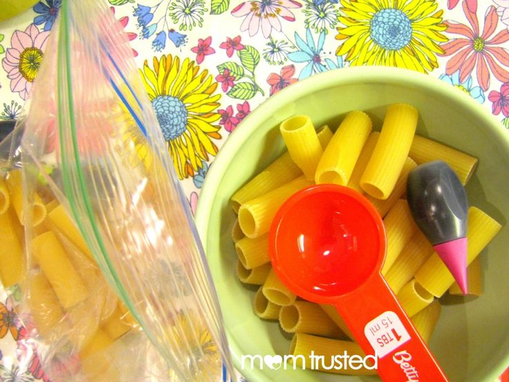 How to create your own colorful noodles for projects