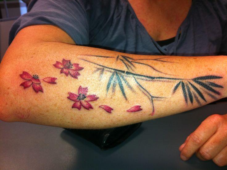 Blossom Tattoo by Patrick Arm Tattoo, woman, girl stuff