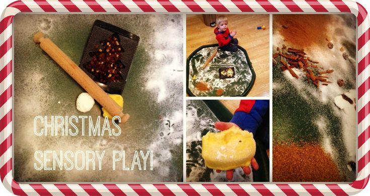 Christmas sensory play: ghostwritermummy.co.uk