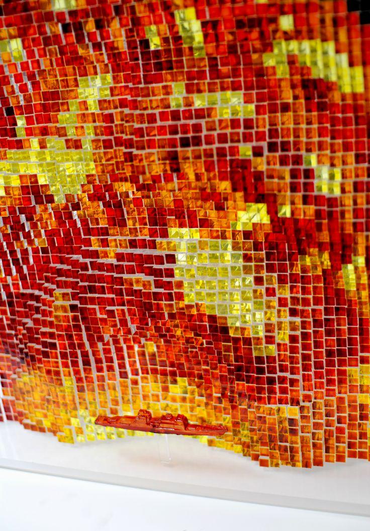 #sculpture Sea of Desire-detail cut