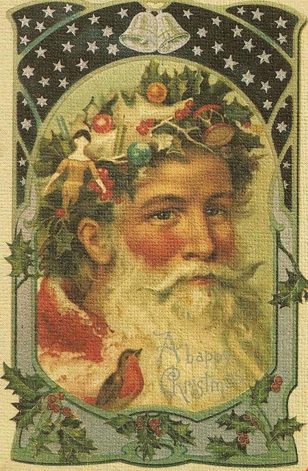 I love old Santa's!