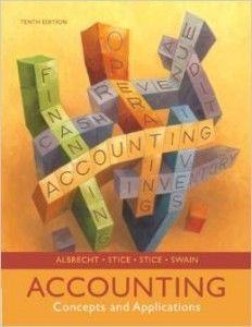 Textbook Solutions Manual for Accounting Concepts and Applications Edition 10e by Albrecht INSTANT DOWNLOAD