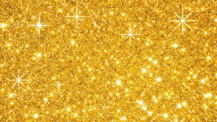 Nice Gold Glitter Wallpaper HD For Desktop. 2