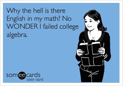7 best algebra images on Pinterest   Chistes, School stuff and So funny