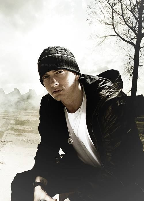 Eminem, melts in your mouth not your hand(;