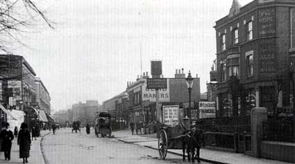 Acre Lane, Brixton, 1900