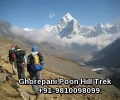 Ghorepani Trek is as well known as the Ghorepani Poon Hill Trek. Perhaps one of the most gorgeous viewpoints on earth is at Poon Hill where you can see the most wonderful sunrise and sunsets; this is a prize in itself.