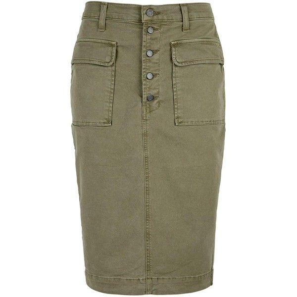 Best 25  Khaki pencil skirts ideas on Pinterest   Classic work ...