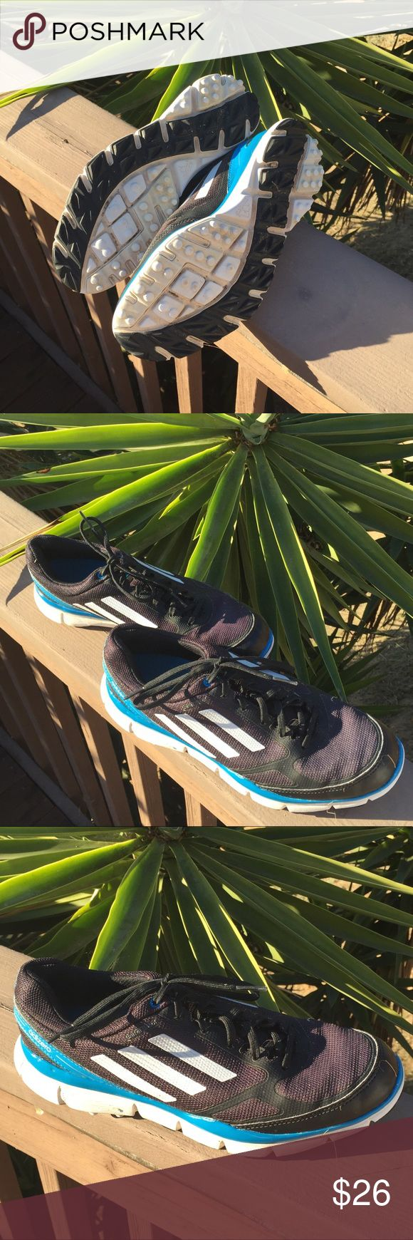 Adidas Ladies Golf Shoes Size 9 Waterproof, Good Used Condition adidas Shoes Athletic Shoes