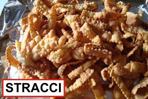 Uno fra i tanti dolci tradizionali italiani preparati durante il CARNEVALE