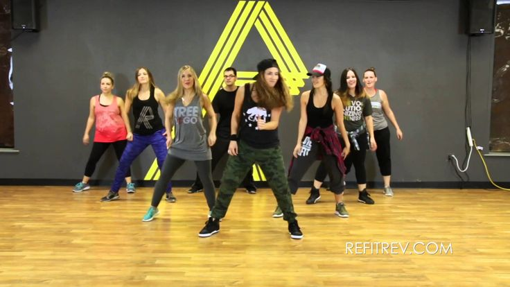 """""""Uptown Funk"""" by Bruno Mars (Dance Fitness Video) with REFIT® Revolution"""