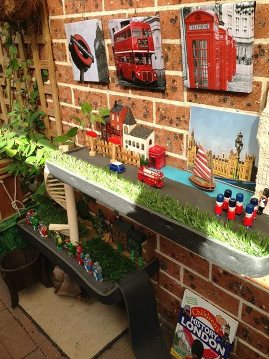 """Puzzles Family Day Care have added canvas prints to enhance small world play ("""",)"""