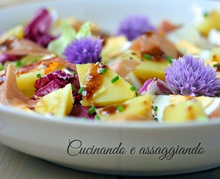 Cucinando e assaggiando...: La mia insalata per GustoSano