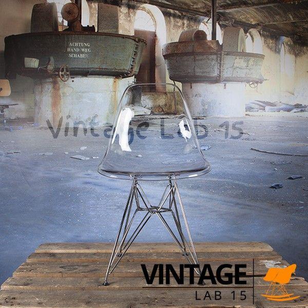 Design Eames DSR stoel transparant | Eetkamerstoelen