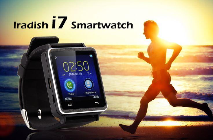 Ceas Smartwatch Iradish i7, 1,54 Inch Touchscreen, Pedometer, Sleep Monitor http://www.gadgetworld.ro/ceas-smartwatch-iradish-i7-1-54-inch-touchscreen-pedometer-sleep-monitor.html