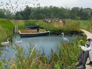 Ontwerp natuurbegraafplaats in het kader van onderzoek Landschap als Nalatenschap. Door Vollmer & Partners, ondersteund door Stimuleringsfonds voor Creatieve Industrie