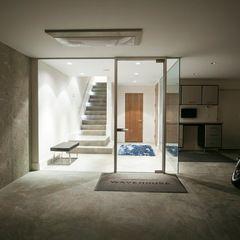 modern entry by kbcdevelopmentsentry concrete