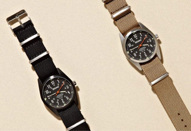 Stussy oran vintage military watch