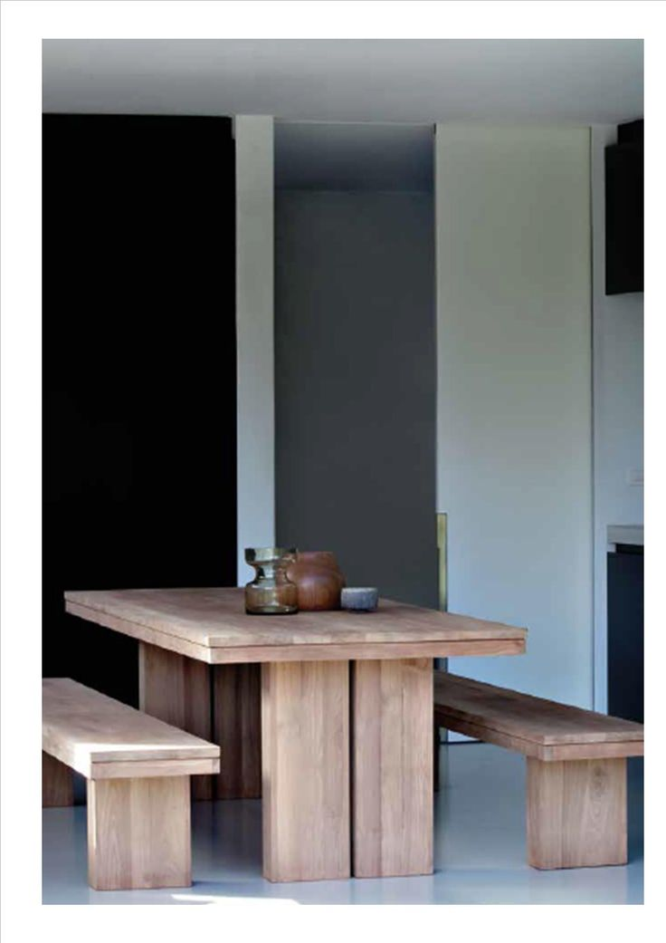 Double Table- Teak Ethnicraft Collection 2014-2015
