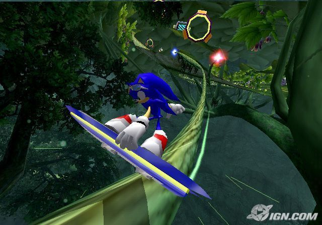 Sonic Riders PC Game Screenshots