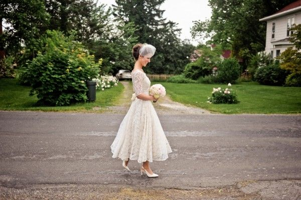 Vintage-Sleeved-Lace-Wedding-Gown