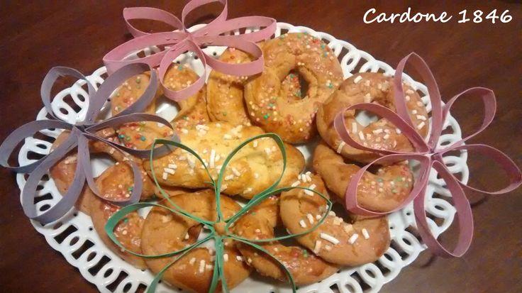 Biscotti tradizionale pasquali