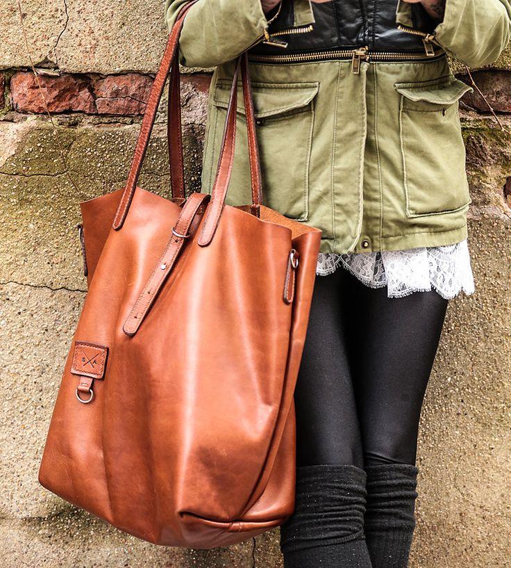 Dublin Leather Tote