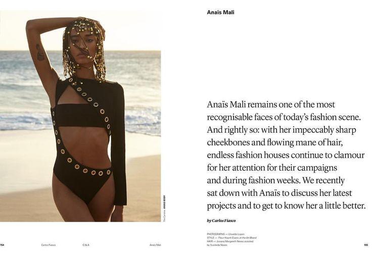 """1,665 mentions J'aime, 17 commentaires - Anaïs Mali 🌙 (@realanaismali) sur Instagram: """"ANAIS x @slimimag"""""""