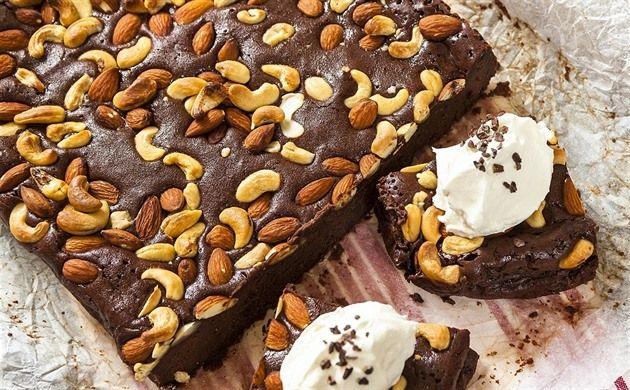 Čokoládové brownies se šlehačkou podle Michala Nikodéma